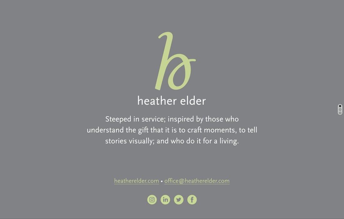 Elder, Heather Represents