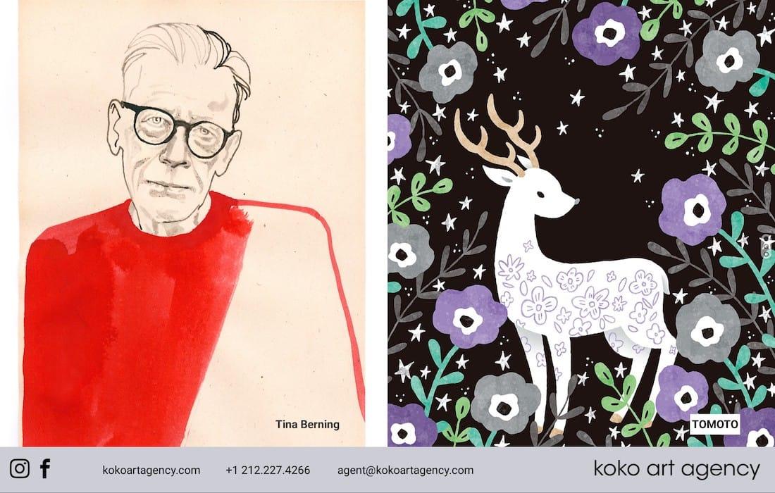 KOKO Art Agency – Berning & Tomoto