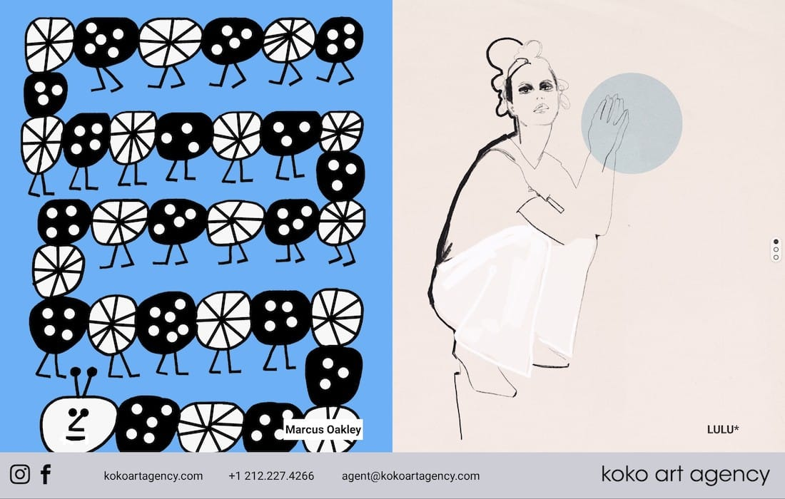 KOKO Art Agency – Oakley & LULU*