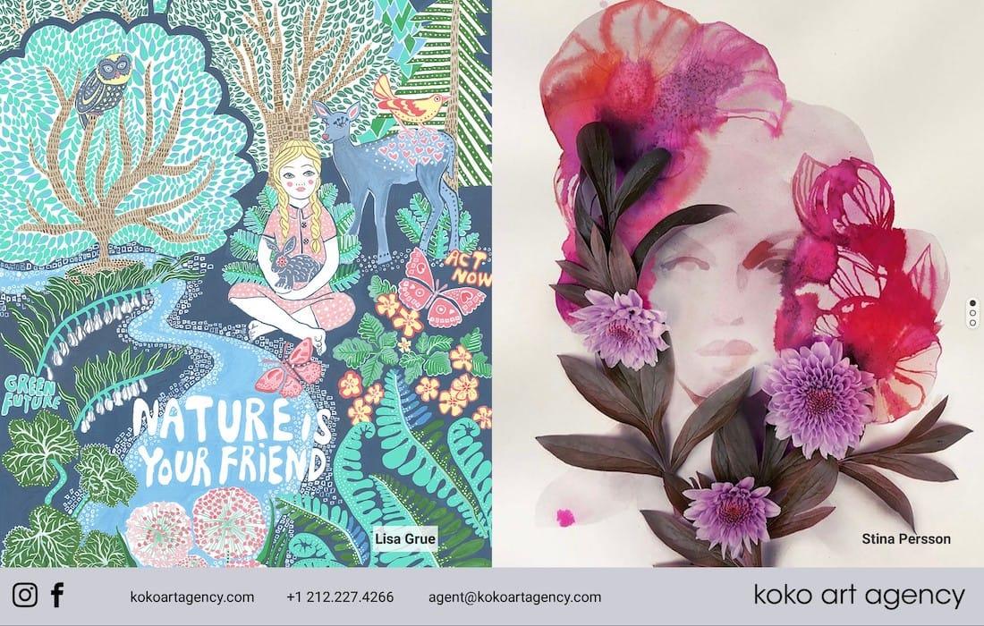 KOKO Art Agency – Grue & Persson